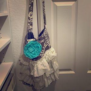 Fun boho style fabric bag